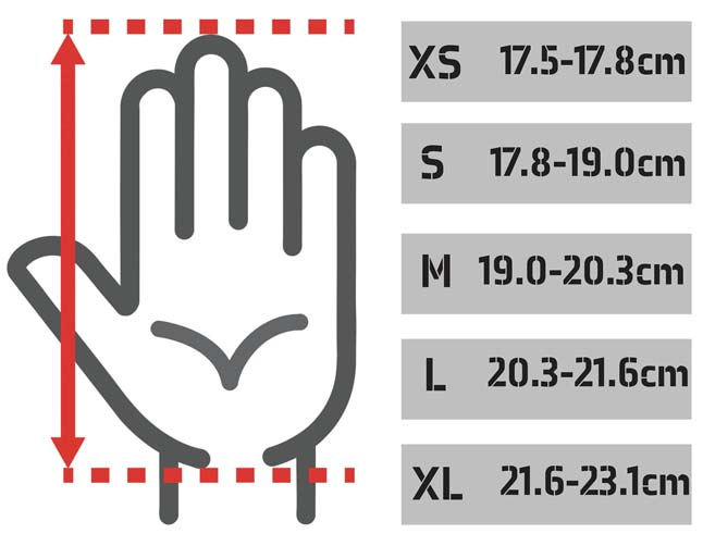 How to Measure Your Hand for Mountain Bike Gloves